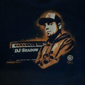 Obey Dj Shadow Mens XL Public Works Shirt Blue